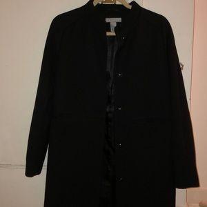 H&M Black Top Coat